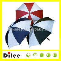 fabric end cap high standard eva handle golf umbrella