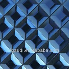 mirror sheet glass mosaic backsplash tile