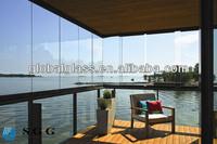 High Quality Tempered Laminated Glass Balcony Glazing