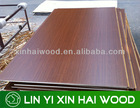 melamine ply woods/solid color or wood grain face plywood
