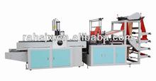 HSLQ-800 auto-puncher double layers t shirt shopping bag machine
