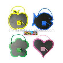 varias formas de plástico mini pizarras