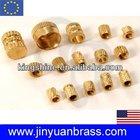 knurled Brass insert nut