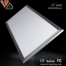 27W 300*600 LED square panel light