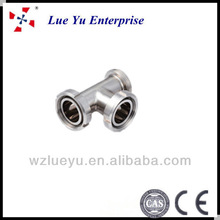 stainless steel sanitary threaded pipe fitting