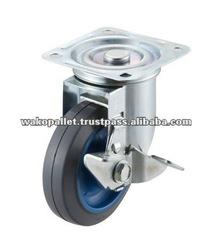 Small wheel caster
