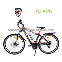 Flyer green panasonic electric bicycle with mid motor with CE certification
