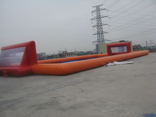 Commercial pvc tarpaulin water football, inflatable football ground