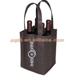 Eco-friend nonwoven tote bottle bags