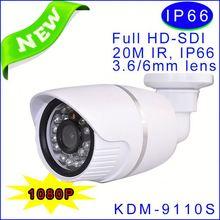 2013 new product!!!1080P cmos waterproof Camera 1080p full hd, 20M IR cctv camera,CE,FCC,ROHS