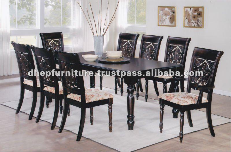 Muebles de comedor madera juego de comedor sets para sala - Muebles del comedor ...