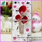 2014 wholesale mobile rhinestone phone case for iphone 4s