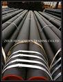 Tubo de tubo de aço leve para correia transportadora mandril material a granel hndling transportadores