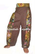2879 Cotton trousers cotton harem pant pantalon saroual algadon Pantalons Manteaux & vestes Tuniques Pantalons Robe pareo summer