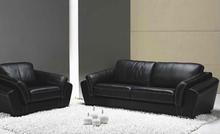 Italian reclining leather sofa design classical sofa set with brown leather sofa furniture home use 9065