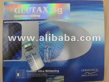 GLUTAX 5G GLUTATHIONE 5000MG ASCORBINE ALPHA LIPOIC COLLAGEN POWERFUL WHITENING