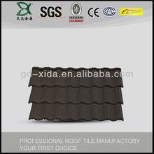 Building meterial corrugated metal roofing shingle