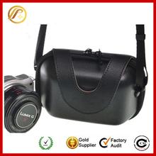 Black PU camera case bag
