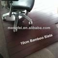 10 cm de la silla de bambú estera