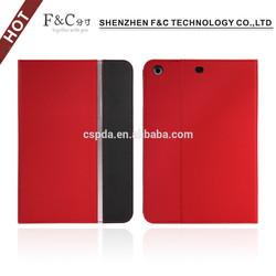 Universal book style pu leather case for ipad mini 2 & ipad mini 3