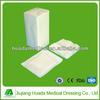 various hospital dental disposable medical supplies (dental gauze/gasas)