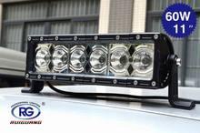 "11"" 60W 4x4 led driving light bar,led light bar with CE,ROHS,IP68 (RG-LB-016C-3)"