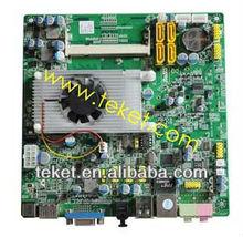 Intel Mini-ITX Motherboard IONN3M7AVL Atom N330 with nVidia MCP7A for HTPC+1*VGA+1*HDMI+1*LVDS