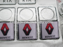Car logo sticker Renault emblem. car accessories