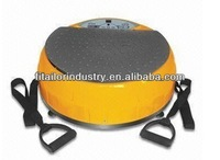 Crazy Fit Whole Body Massage fitness body shaker with CE ROHS/vibration plate with Remote control / platform 500W massager