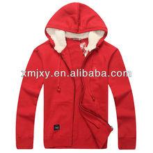 fashion custom headphone hoodies headset coat cheap red varsity jacket