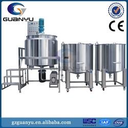 price of soap making machine/Dishwashing Liquid Detergent shampoo, liquid soap Homogenizing Mixer Blending Machine