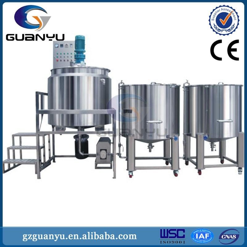 rubber emulsion mixer /Dishwashing Liquid Detergent shampoo, liquid soap Homogenizing Mixer Blending Machine