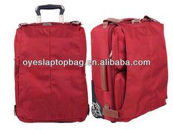 nylon foldable travel bag hanging garment bag travel of tapestry luggage