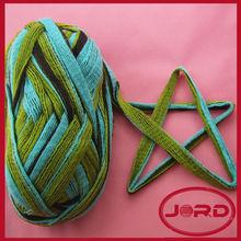 Net yarn for scarf
