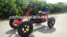Fashionable kids pedal go kart toys,children's car,mini go kart for children with CE certificate F90A