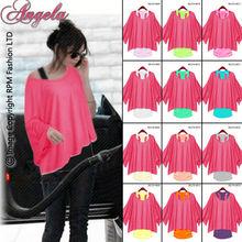 Angela Pink Plus Size Ladies Blouse T-shirt Model/Top Blouse