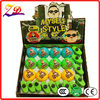12 pcs plastic boy led spinning top toys