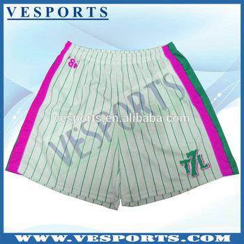 9 Inchs Inseam Lacrosse Shorts Basketball Shorts