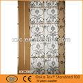 Tela poliéster 100%, textiles para el hogar cortinas de la iglesia