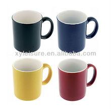 2 tone two tone ceramic mug porcelain mug 11oz customize logo