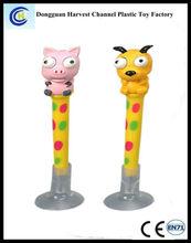 Factory supply animal design multi-function cheap banner ballpoint pen
