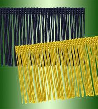75mm wide 6 colors Open End Chainette Fringe #1475