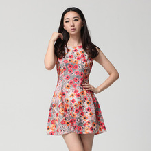 new model casual latest fashion girl dress