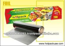 Soft Coated Household Food Packaging Aluminium Foil