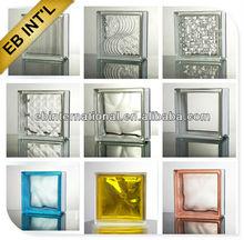 blue,green,pink Parallel Glass brick, decorative glass block, building glass
