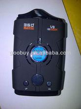 V8 Taiwan speed control laser radar detector, V9 car anti laser cobra radar detector