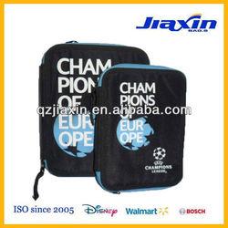 Football theme stationery organizer bag case