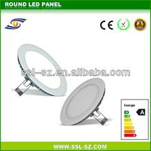 High brightness SMD3528 emergency 240mm led round panel 18w