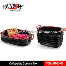 RBZ-035 container box plastik ,big container box
