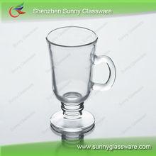 glass juice mugs glass water mugs with hand